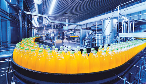 Food and Beverage Manufacturing Line